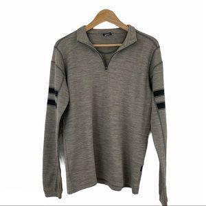 Kuhl Merino Wool Quarter Zip Pullover Size Small